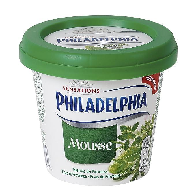 Philadelphia Queso Crema Mousse Hierbas de Provenza - 140 gr