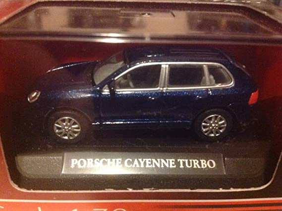Amazon.com: Road Signature 1:72 Porsche Cayenne Turbo Blue: Everything Else