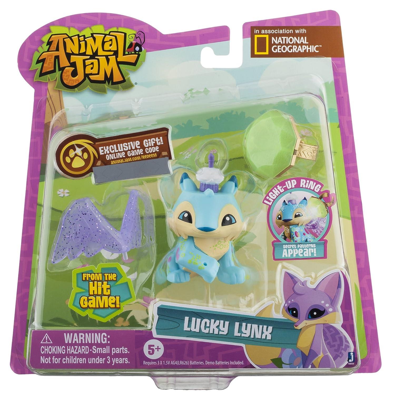 Amazon Animal Jam Best Dressed Sparkle Tiger Action Figure