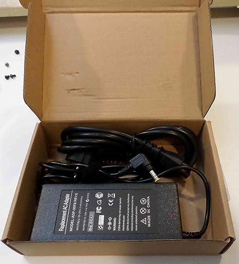 Lavolta-Adaptador de corriente alterna para ASUS X55A X55A-sx174h-Power- Ordenador