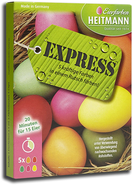 Amazon.de: Heitmann Eierfarben (Express 5 Farben)