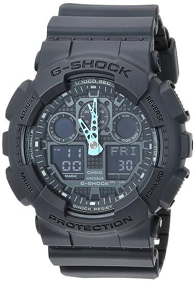 d7571dce7b G-Shock Men's GA-100 Neon Highlights Watch