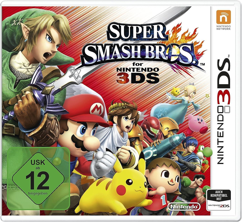 Nintendo Super Smash Bros., 3DS vídeo - Juego (3DS, Nintendo 3DS, Acción, Modo multijugador, E10 + (Everyone 10 +)): Amazon.es: Videojuegos