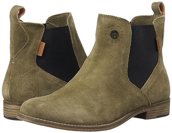 Superdry Maine Chelsea Femme Boots Fauve 8kOp76