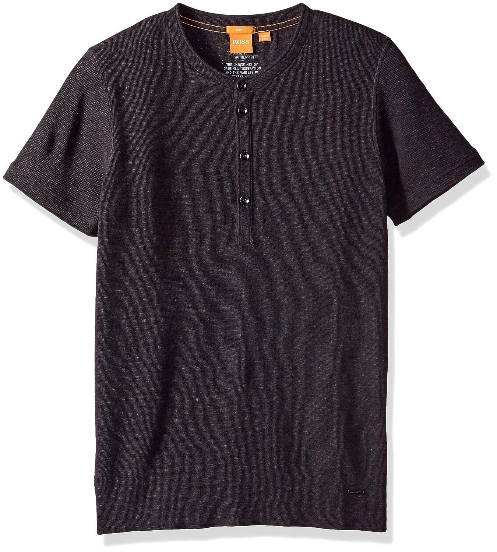 BOSS Orange Mens Topside Button Down Crewtshirt