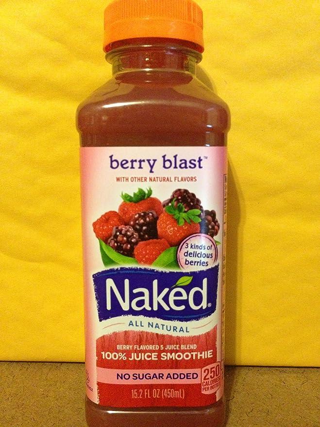 Naked Juice Fruit Smoothie, Tropical Guava, 15.2 oz Bottle