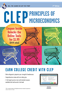 Amazon clep calculus book online clep test preparation clep principles of microeconomics w online practice exams clep test preparation fandeluxe Choice Image