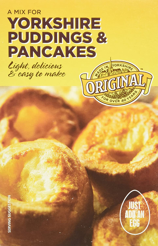 Original Yorkshire Pudding Mix 142g (case of 6 boxes)