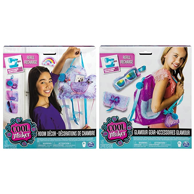 Amazon.com: Cool Maker 6037854 Sew n Style Project Kit (Variety of Styles – Style Picked at Random): Toys & Games
