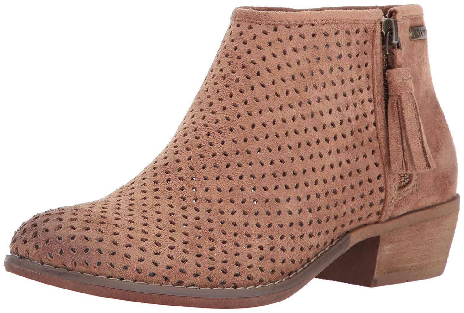 Roxy Women's Fuentes Ankle Bootie B01MSUQ94U 8 B(M) US|Brown