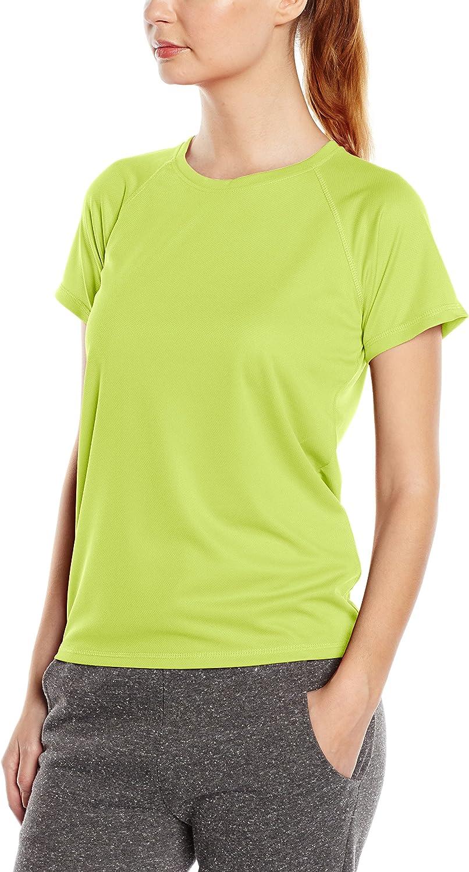 Stedman Apparel Active 140 Raglan//ST8500 T-Shirt Sportiva Donna