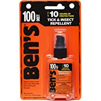 Ben's 100% DEET Mosquito, Tick and Insect Repellent, 1.25 Ounce Pump