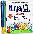 Ninja Life Hacks Leadership 8 Book Box Set (Books 17-24: Focused, Calm, Brave, Masked, Inclusive, Grateful, Hangry, and Worry