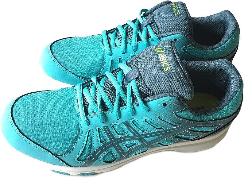 Nuevo Asics Ayami-Shine – Zapatillas de Running Mujer – Turquesa – s394q 4056, Color Azul, Talla 41 EU: Amazon.es: Zapatos y complementos