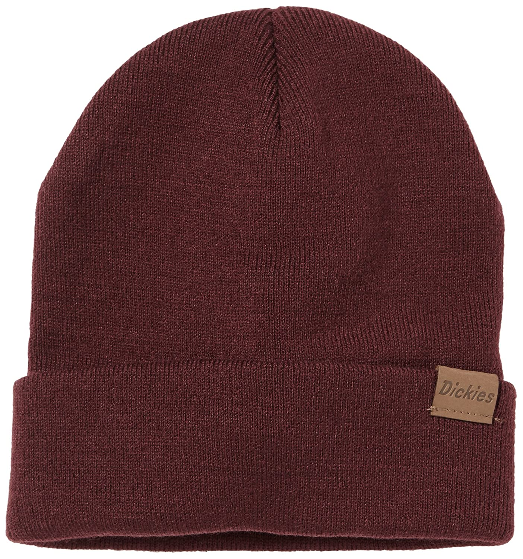 Dickies Herren Ohrenschützer Streetwear Cap Alaska rot (Maroon) One Size