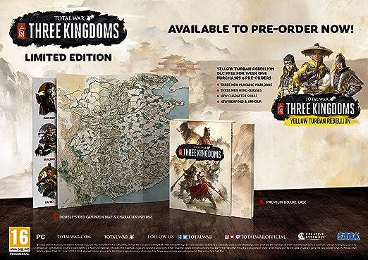 Total War: THREE KINGDOMS Limited Edition PC CD: Amazon co