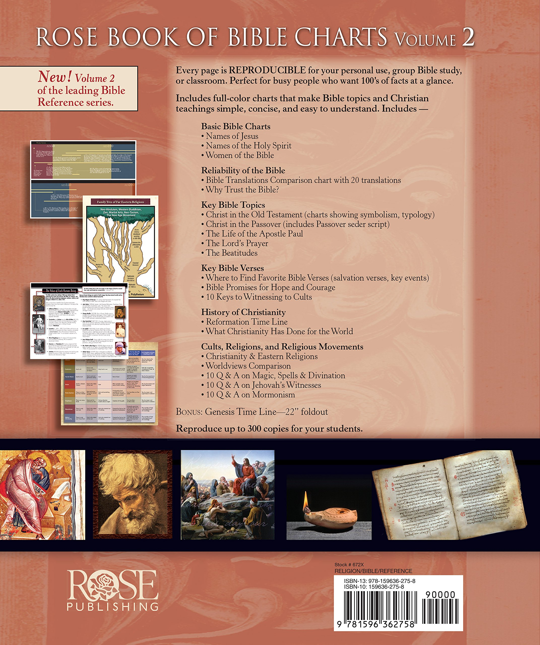 Rose book of bible charts vol 2 rose publishing 9781596362758 rose book of bible charts vol 2 rose publishing 9781596362758 amazon books biocorpaavc Gallery