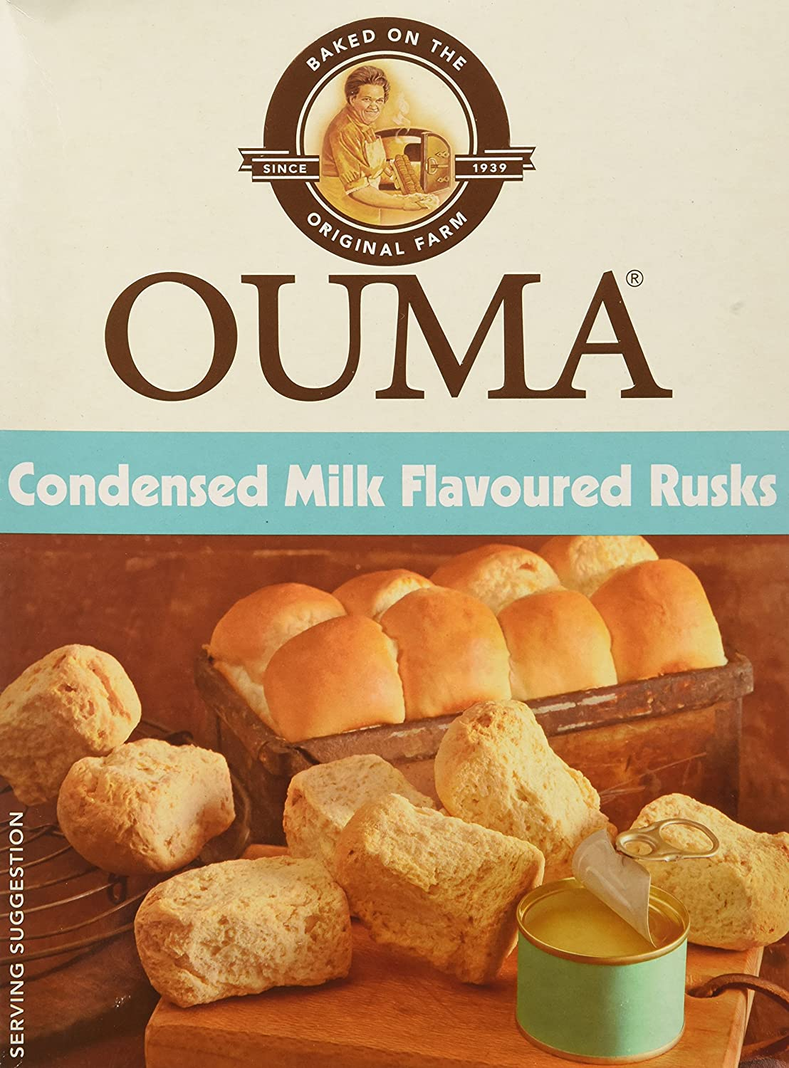 Nola Ouma Condensed Milk Rusks (2 Pack) Foodcorp Group (Pty) Ltd