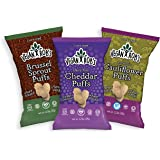Vegan Rob's Gluten Free and Dairy Free Puffs, Variety Pack, 12 Count