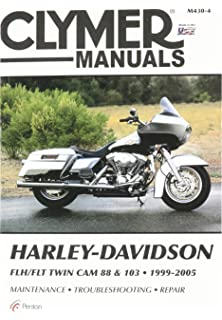 Amazon clymer repair manual for harley softail twin cam 88 00 clymer repair manual for harley flh flt twin cam 88 99 05 fandeluxe Image collections