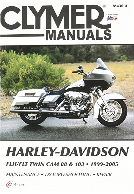 amazon com clymer repair manual for harley flh flt twin cam 88 99 rh amazon com