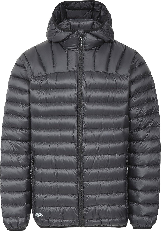 Romano Mens Down Jacket Lightweight Pack Away Coat with Hood