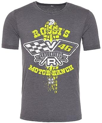 Valentino Rossi T Shirt Rossi Motor Ranch 46 The Doctor Moto Gp Tshirt