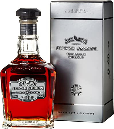 JACK DANIELS - Silver Select - Single Barrel Tennesse Whiskey 70cl