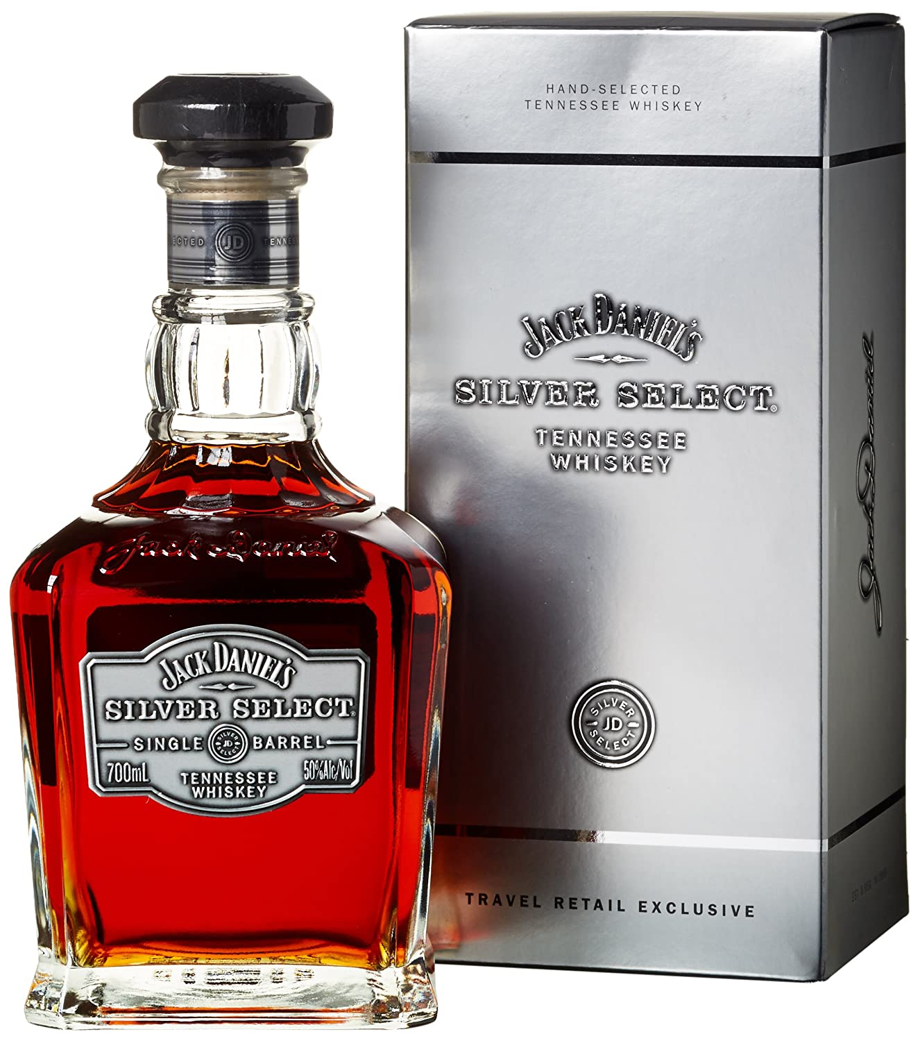 JACK DANIELS - Silver Select - Single Barrel Tennesse Whiskey 70cl ...