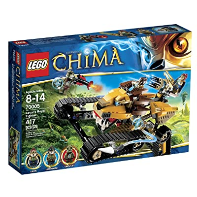 LEGO Chima Laval Royal Fighter 70005: Toys & Games