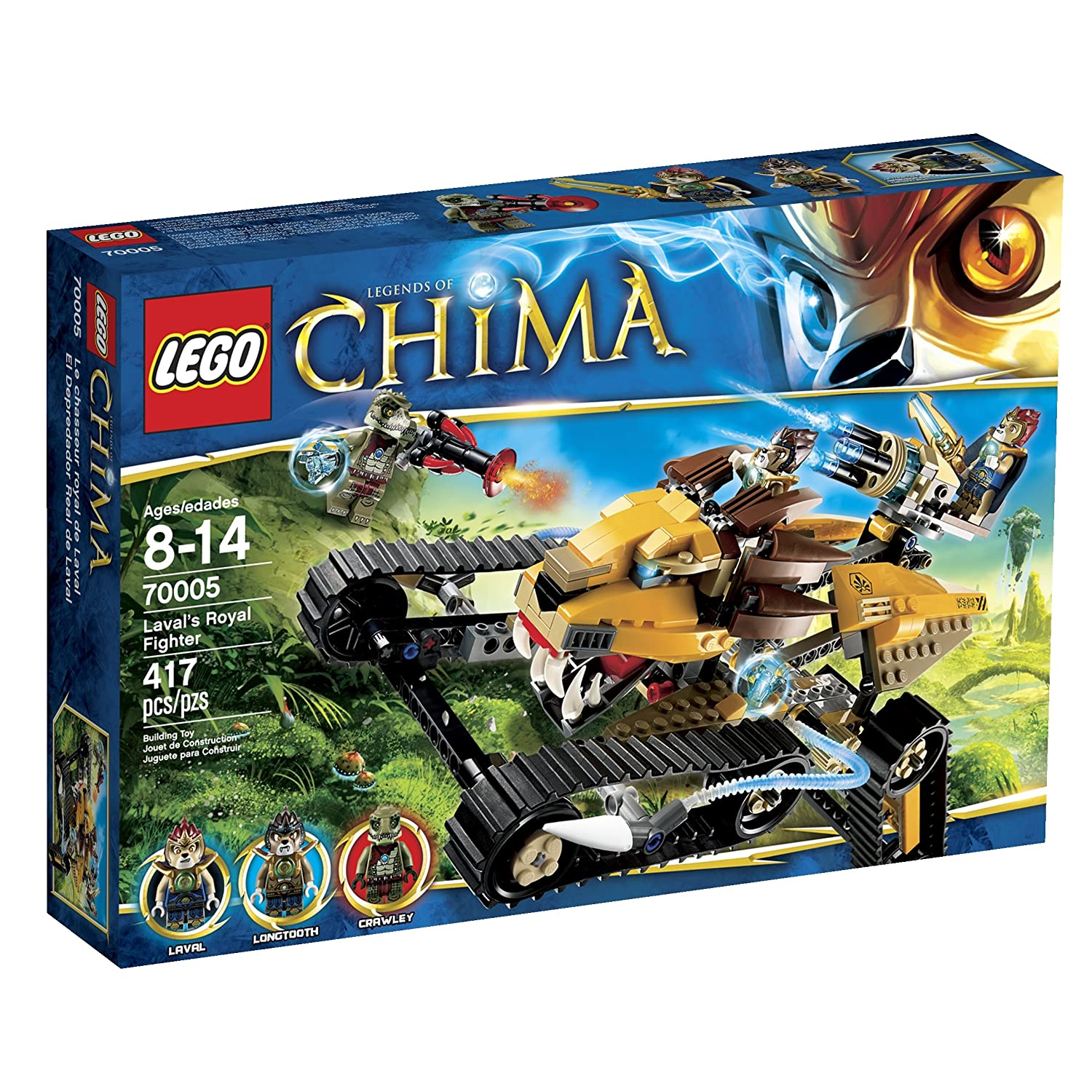 Top 9 Best LEGO Chima Sets Reviews in 2020 7