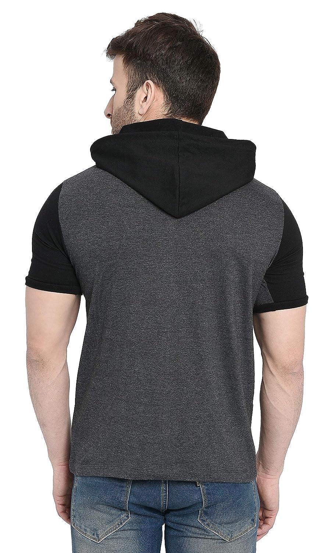 Anthra-Black Regular Fit Men's T-Shirt