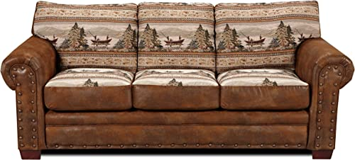 American Furniture Classics 4-Piece Alpine Lodge Sofa