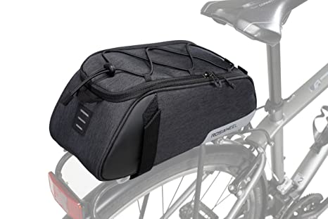 Sports & Entertainment Top Sale Roswheel Bicycle Bags 13l Cycling Bike Pannier Rear Seat Bags Rack Trunk Shoulder Handbag Black/blue 2019 New Style Bicycle Accessories