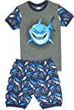 Amazon Price History for:Babypajama Little Boys' Shark Short Pajamas Sets 100% Cotton Clothes Pjs Black