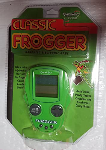 Classic Frogger Handheld Electronic Game