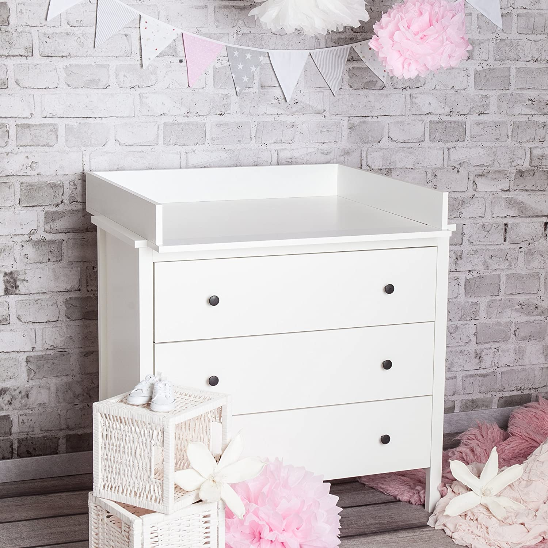'Puck Daddy piano fasciatoioBasic in bianco–per Ikea Nordli e Koppang Puckdaddy