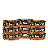 "Gorilla Tape, Black Duct Tape, 1.88"" x 35"