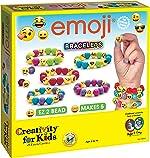 Creativity for Kids Emoji Bracelets, Makes 5 Bead Bracelets - Arts