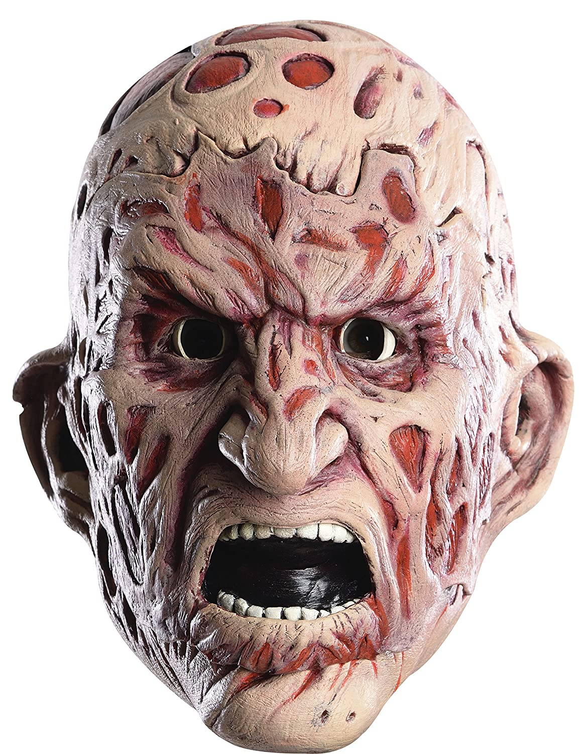 Rubie's Costume Men's Nightmare On Elm Street Adult Freddy Double Tear-Away Mask Multi One Size Rubies Costumes - Apparel 68520