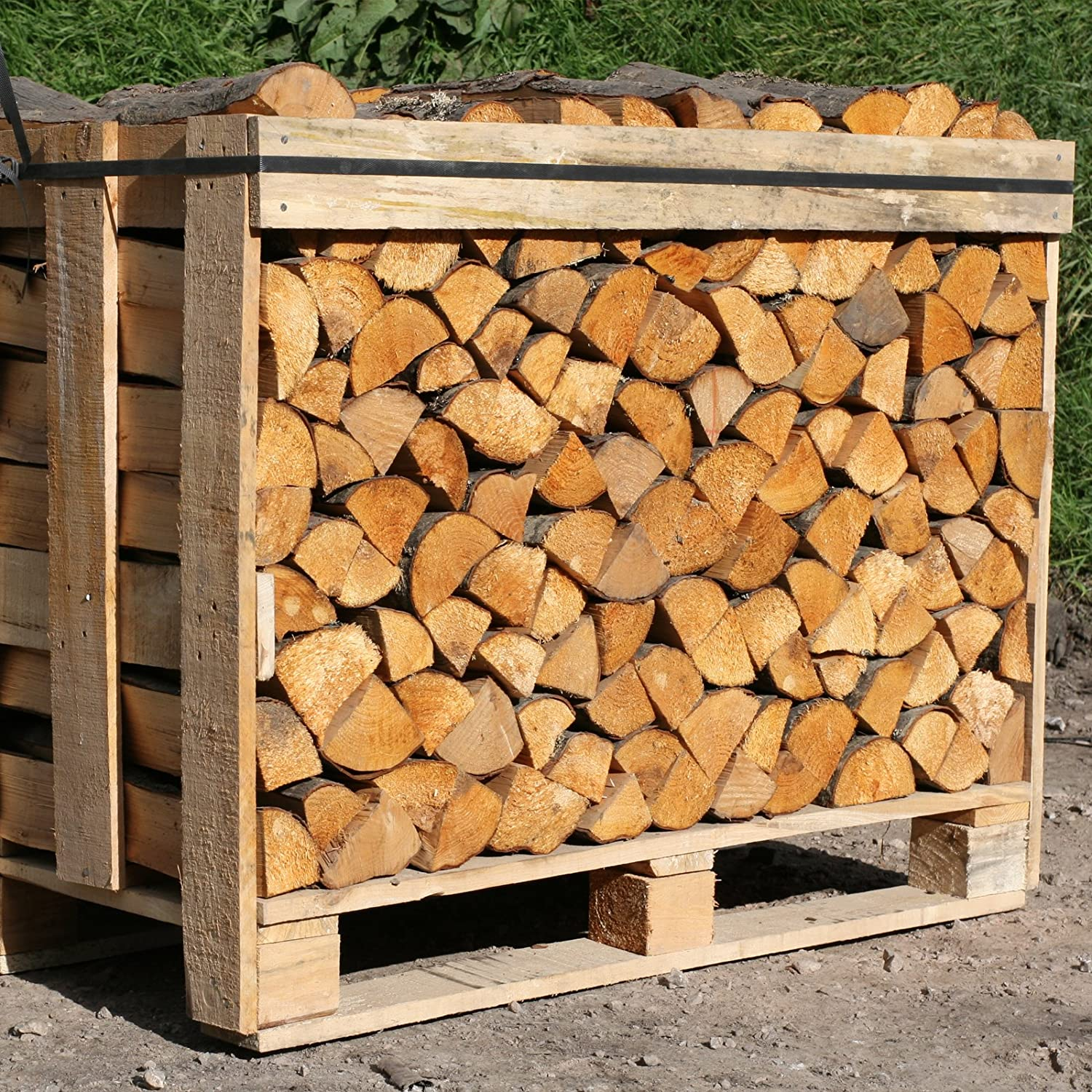 Tigerbox 15KG of 20cm Kiln Dried Red Alder Ready to Burn Logs. Ideal for Small Stoves & Wood Burners. Includes Safety Matches. Shop4accessories
