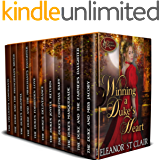 Winning a Duke's Heart - Regency Romance Eleven Book Box Set: Clean and Wholesome Historical Romance