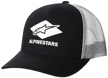 Alpinestar Diamond Gorra, Hombre, Negro, OS: Amazon.es: Deportes y aire libre