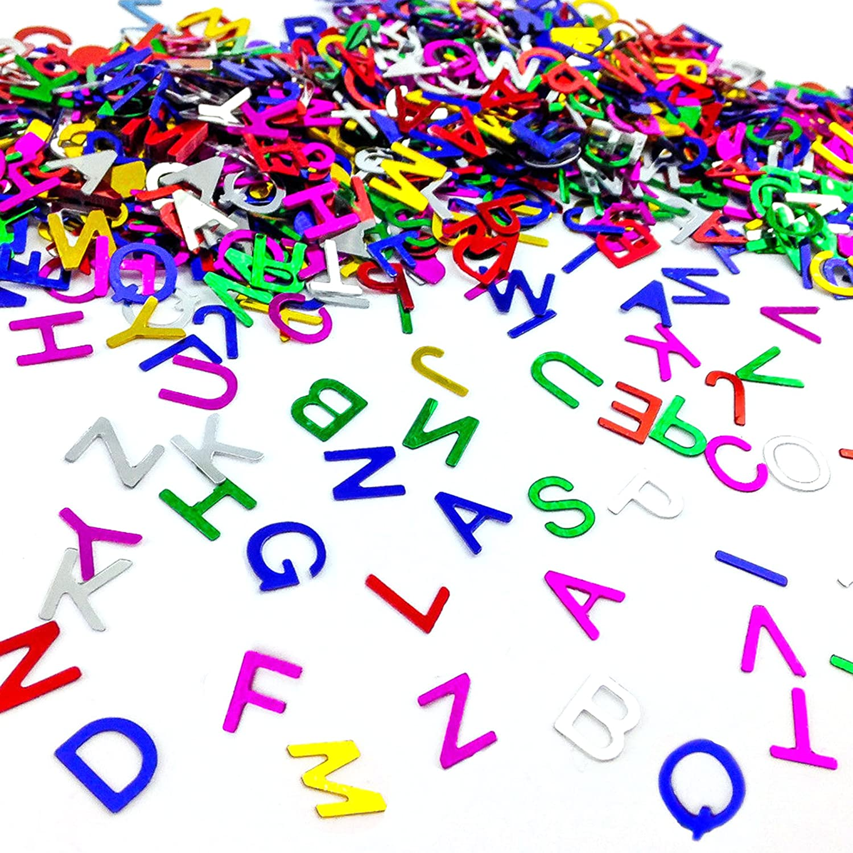 ABC Buchstaben Konfetti Schuleinführung Zuckertüte Einschulung Schulanfang Oblique-Unique K-203-K