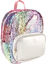 c7d56c1998 Style.Lab by Fashion Angels Magic Sequin Mini Backpack - Pastel Silver
