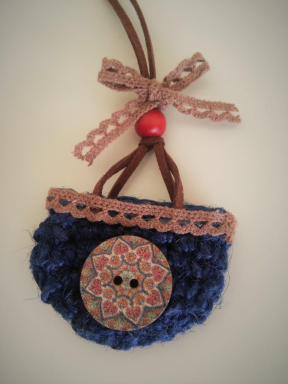 Colgante crochet Capacito.: Amazon.es: Handmade