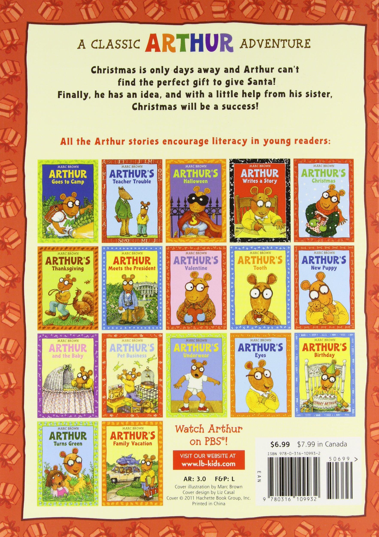 Arthur's Christmas: An Arthur Adventure Arthur Adventures ...