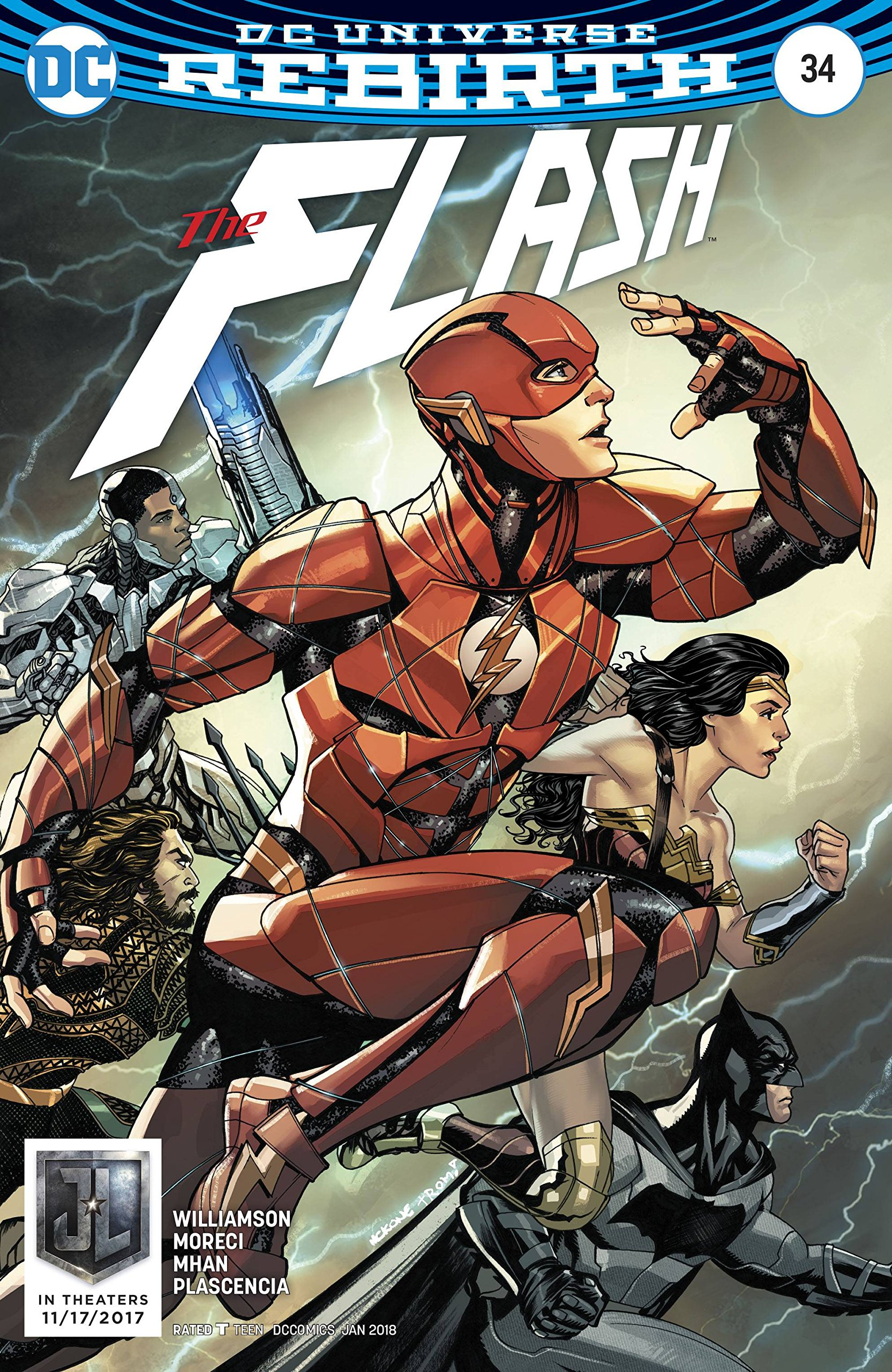 Read Online Flash #34 Var Ed ebook