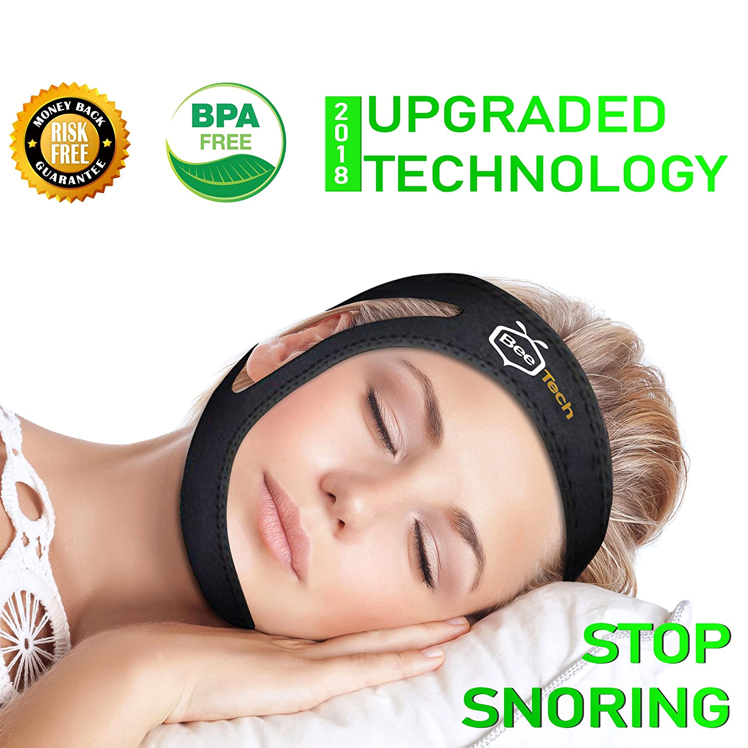 Anti Snoring Chin Strap new Anti Snoring Devices by BeeTech
