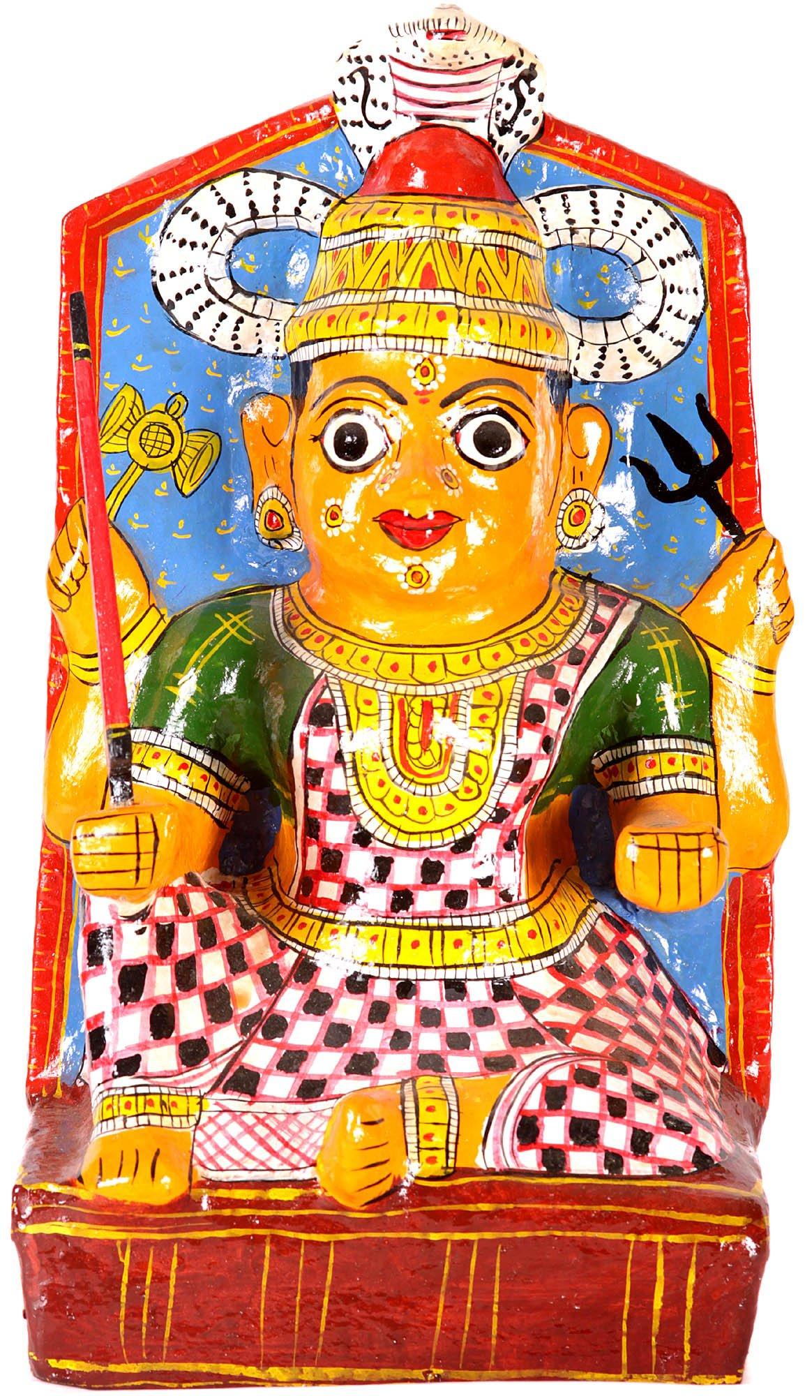 Yellamma Gangamma (Andhra Pradesh) - Papier Machie and Polychrome